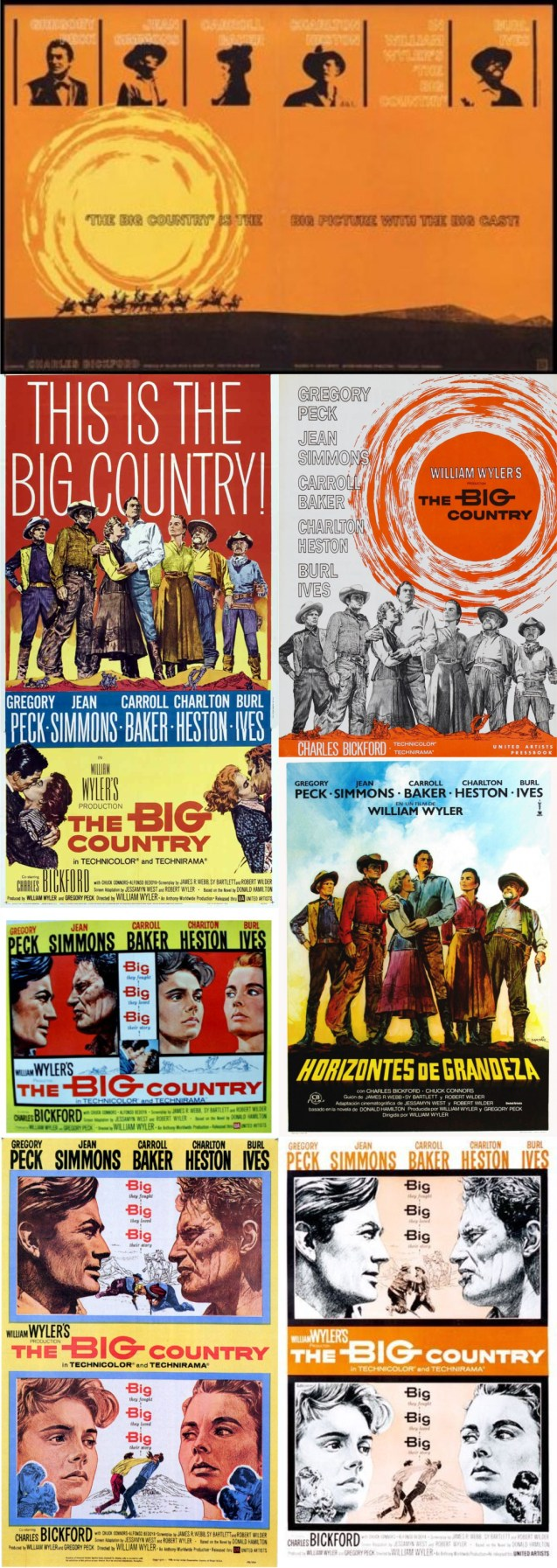 The Big Country Posters