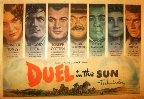duel in the sol poster