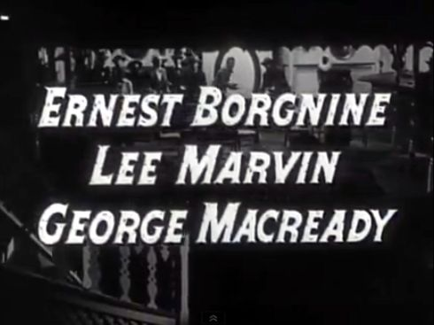 The Stranger Wore a Gun (1953) Billing