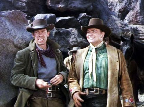 The Stranger Wore a Gun 1953 Marvin and Borgnine