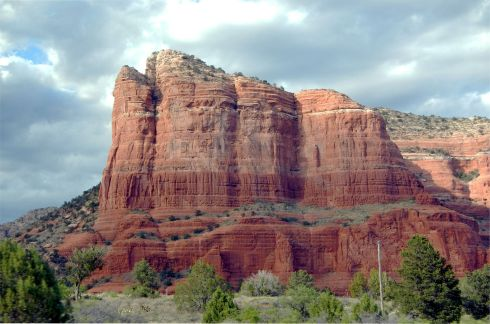 Sedona - entering from the south