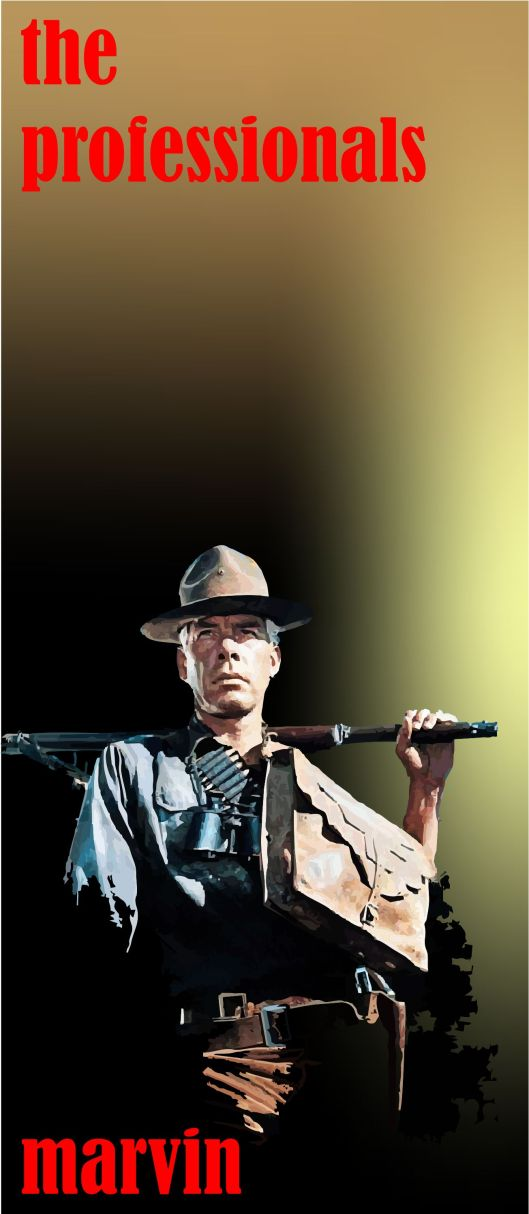 The Professionals Lee Marvin 2