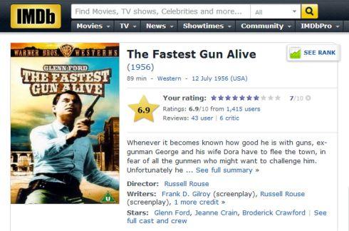 IMDB The Fastest Gun Alive