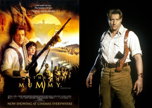 brendan fraser the mummy