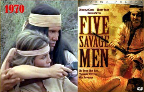 Henry SIlva Five Savage Men