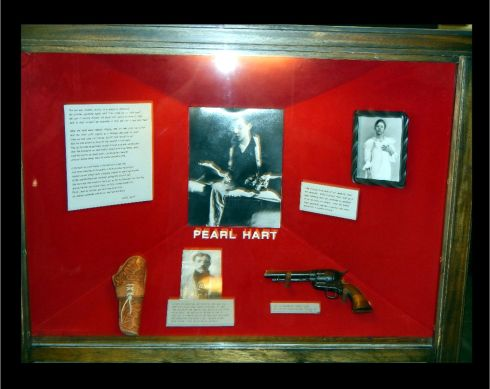 Pearl Hart display