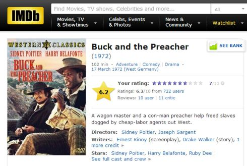 Buck and the Preacher IMDB