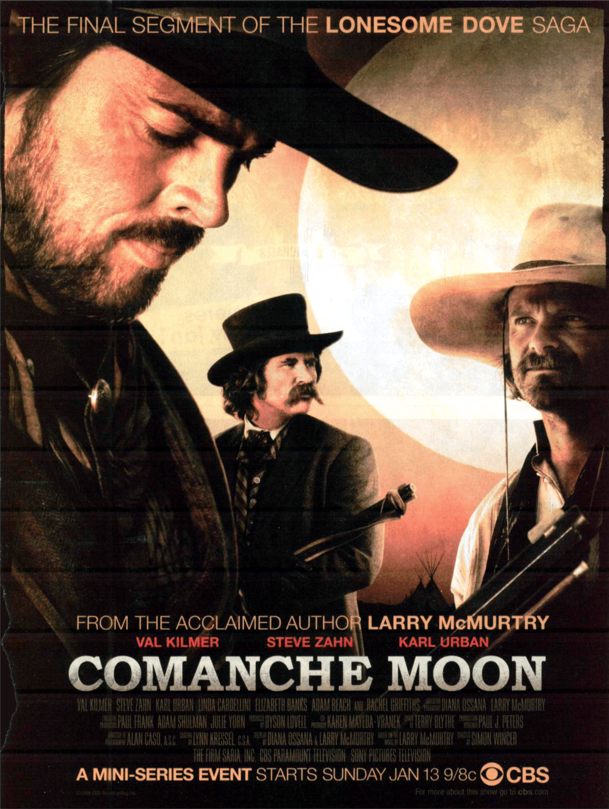 lonesome dove spin offs and wannabes