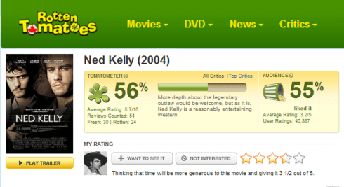 Rotten Tomatoes review