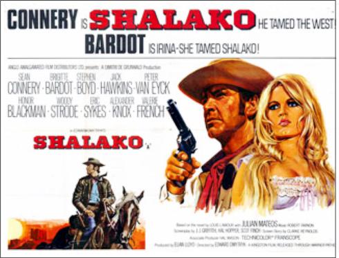 Shalako Poster 1