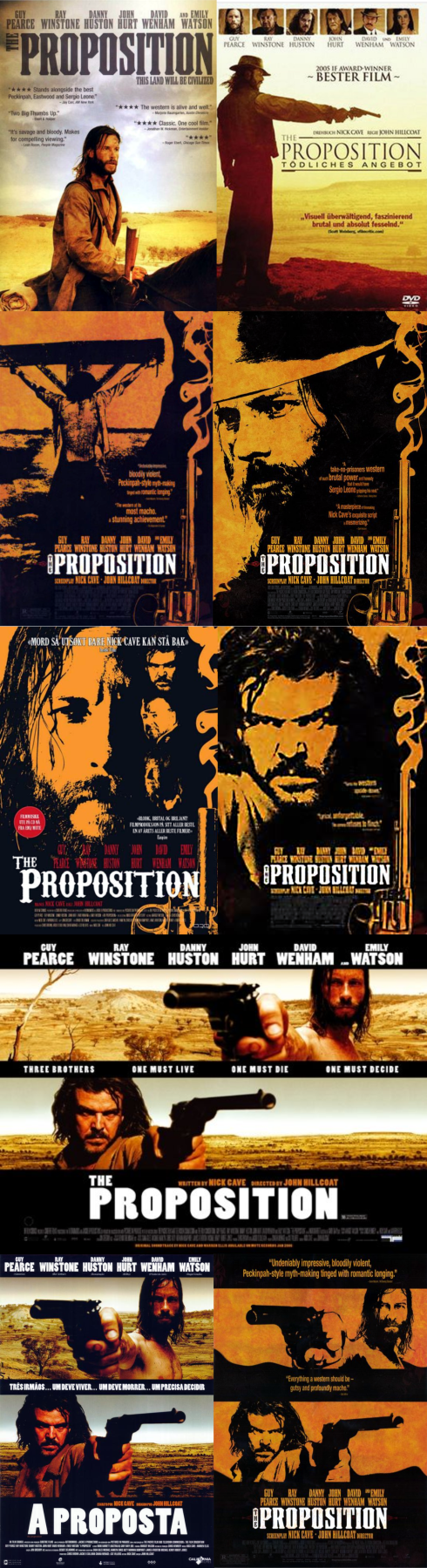 THE PROPOSTION posters