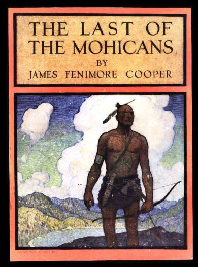 last of the mohicans book cover