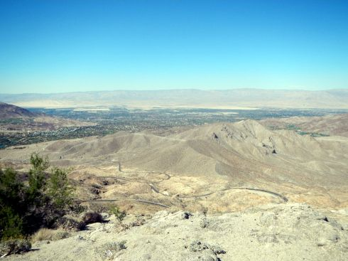 14 view of coachella valley