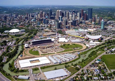 Calgary and Stampede