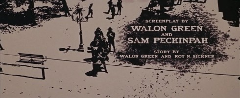The Wild Bunch Corel screen 9 opening credits