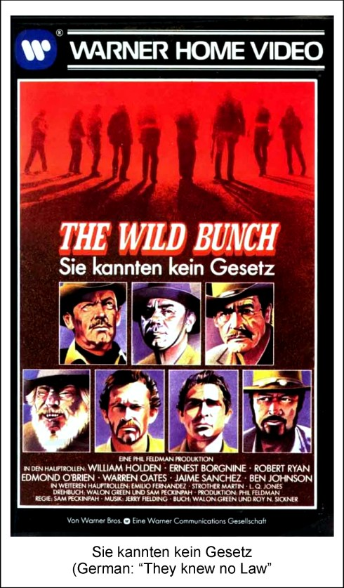 The Wild Bunch poster 8
