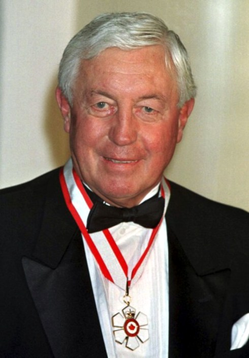 Jean Beliveau and the Order of Canada