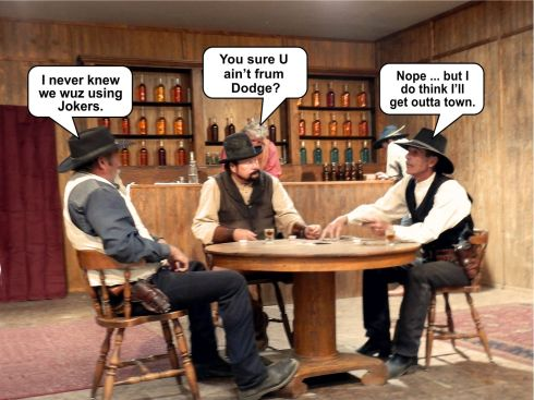 Downtown Tombstone card game 2