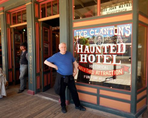 Downtown Tombstone Haunted Hotel