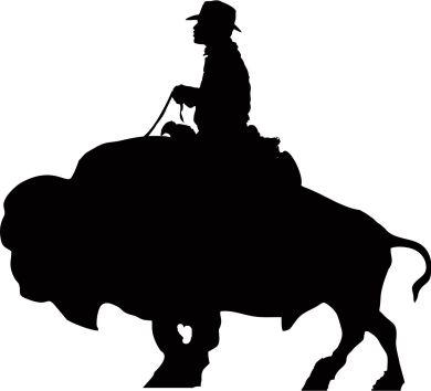 Mounted BUFFALO SOLDIER