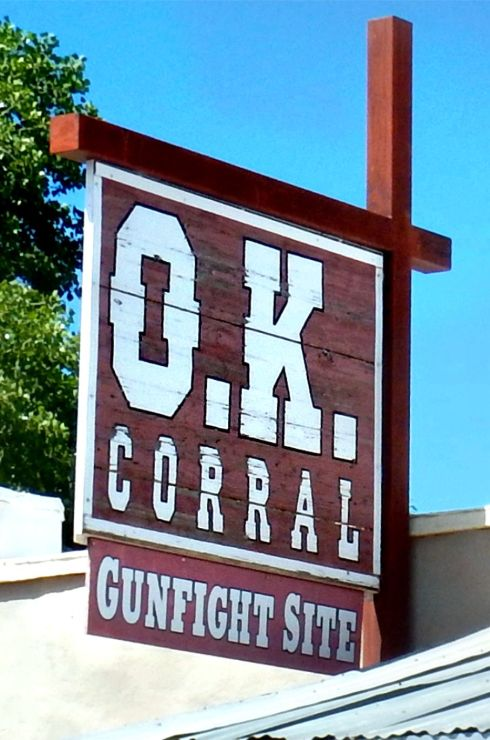 OK Corral sign