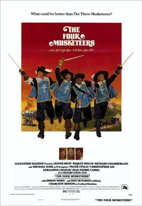 Christopher Lee 4 Musketeers