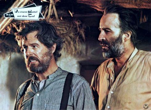 Christopher Lee and Robert Culp
