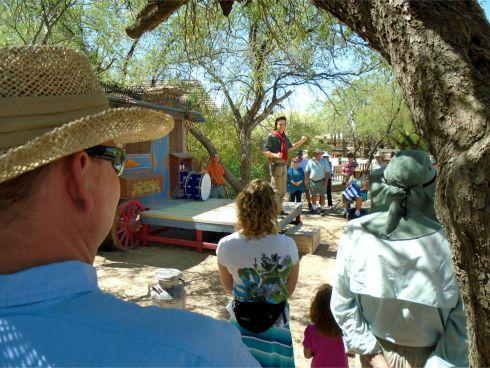 Old Tucson 2 medicine show
