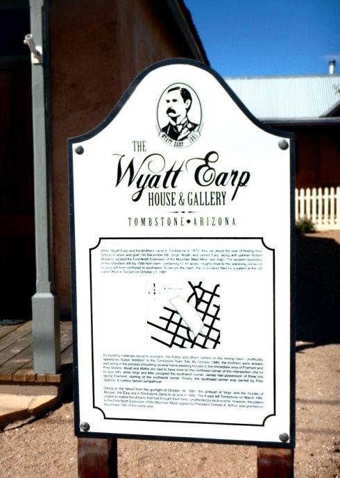 Wyatt Earp House and Gallery