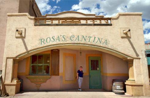 Old Tucson Studios Rose's Cantina