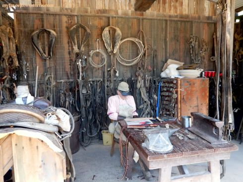 Old Tucson Studios Saddle Maker