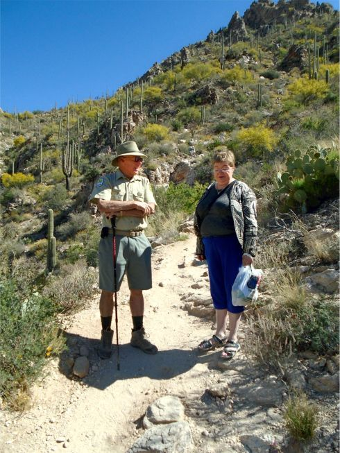 Sabino Canyon and guide