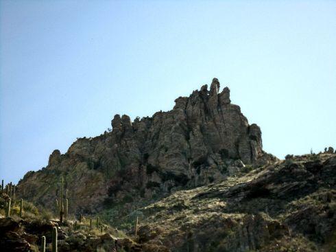 Sabino Canyon at the top 2