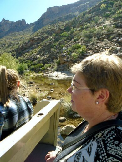 Sabino Canyon Tram 1