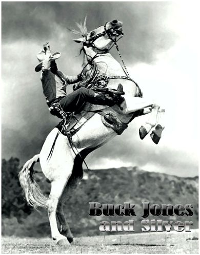 BUCK JONES and SILVER
