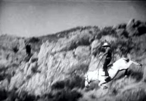 Buck Jones old time stunt 2