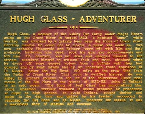 Hugh Glass monument 2