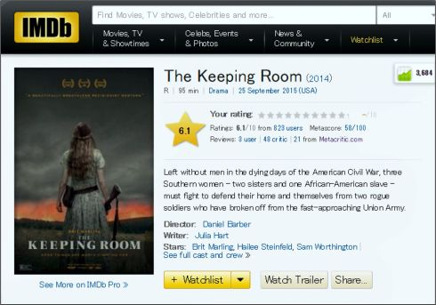 the keeping room review 3