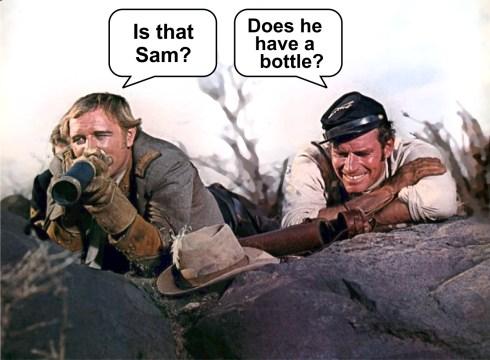 Major Dundee Harris and Heston