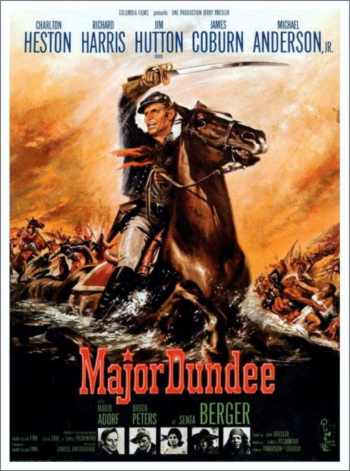 Major Dundee poster 1