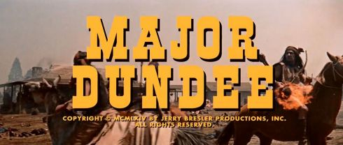 Major Dundee Title