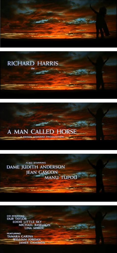 A Man Called Horse Cast and Credits 2