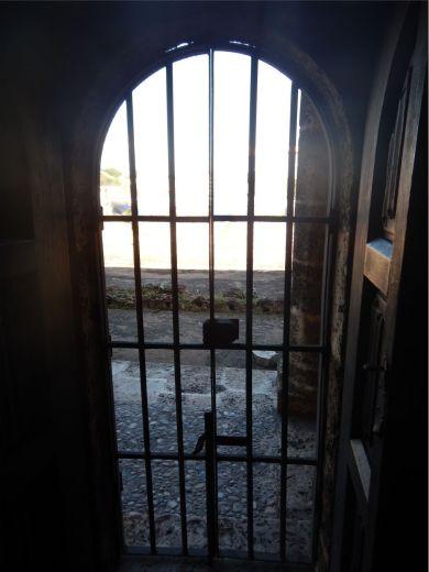 Columbus House door