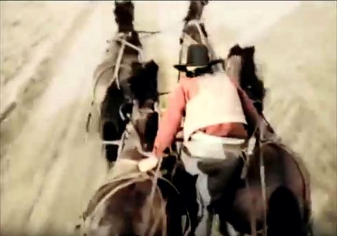 Stagecoach Run Yakima Canutt stunt 11