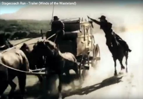 Stagecoach Run Yakima Canutt stunt 2