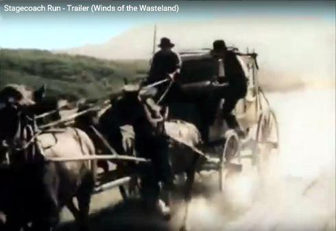 Stagecoach Run Yakima Canutt stunt 7