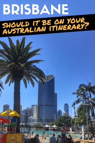 Brisbane Australia Itinerary