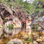 Lower Portals Mount Barney National Park Swimming Hole in Gorge