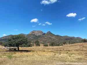 Mount Walsh National Park: a fun summit hike and lovely drive off the beaten track