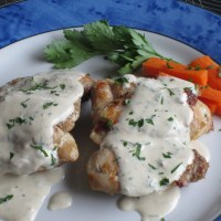 Chicken with Creamy Parsley Sauce